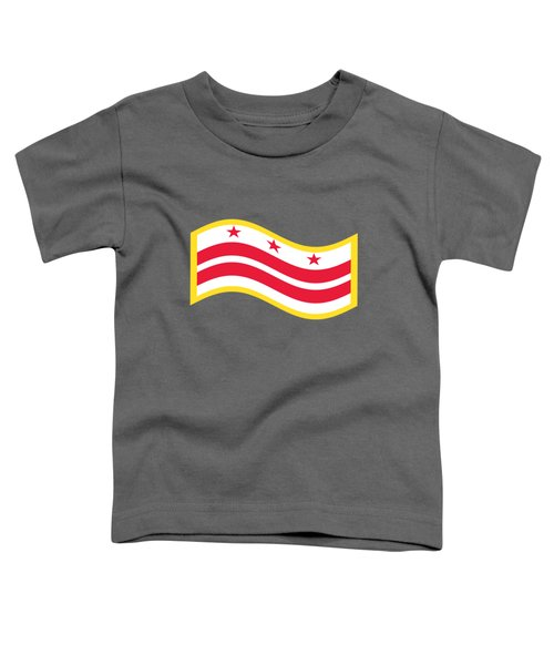Washington, D.c. Flag Toddler T-Shirt by Frederick Holiday