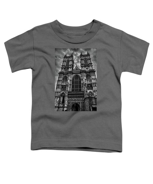 Westminster Abbey Toddler T-Shirt by Martin Newman