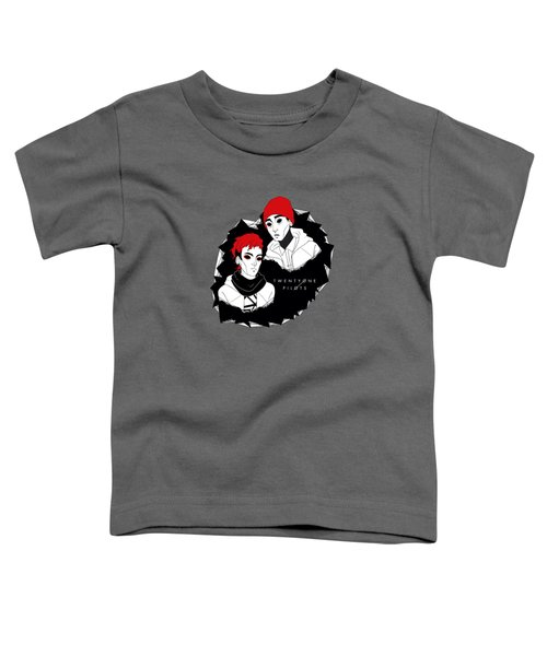 21pilots Art Toddler T-Shirt by Mentari Surya