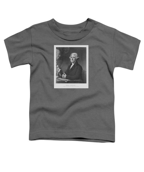 Thomas Jefferson Toddler T-Shirt by War Is Hell Store