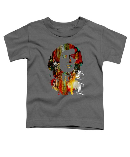 Jimmy Page Collection Toddler T-Shirt by Marvin Blaine