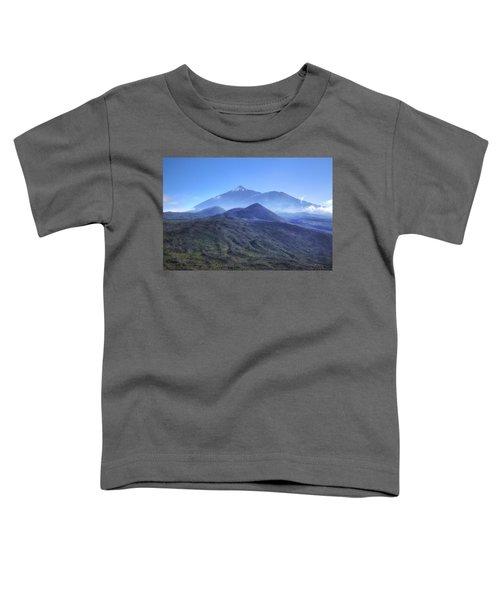 Tenerife - Mount Teide Toddler T-Shirt by Joana Kruse