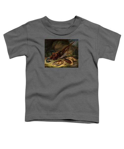 A Dead Pheasant Toddler T-Shirt by MotionAge Designs