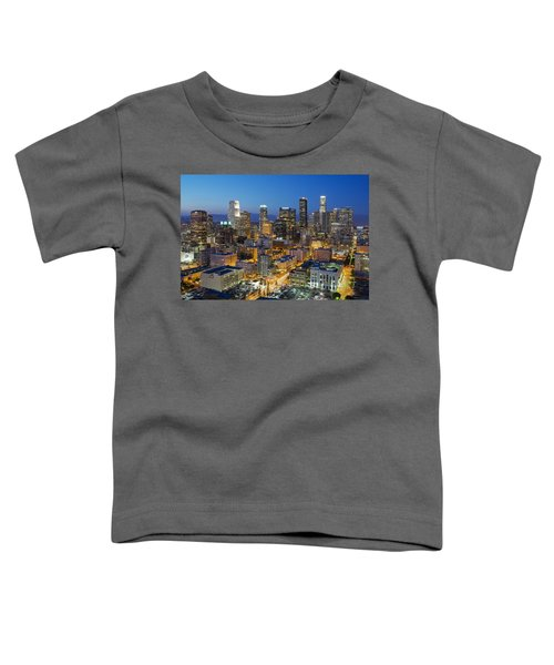 A Night In L A Toddler T-Shirt by Kelley King