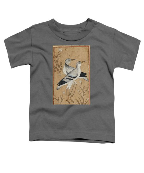 A Pair Of Lapwings Toddler T-Shirt by MotionAge Designs
