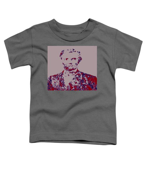 Abraham Lincoln 4c Toddler T-Shirt by Brian Reaves