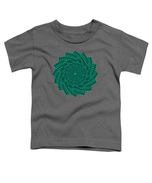 Alligator-dragon Tail Toddler T-Shirt by Heather Schaefer