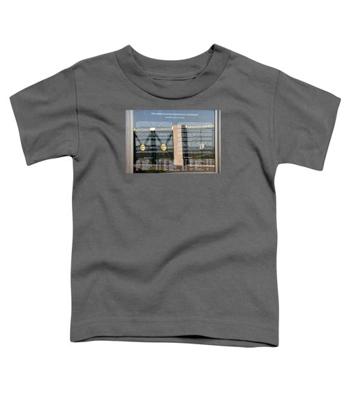 Toddler T-Shirt featuring the photograph American Battle Monuments Commission by Travel Pics