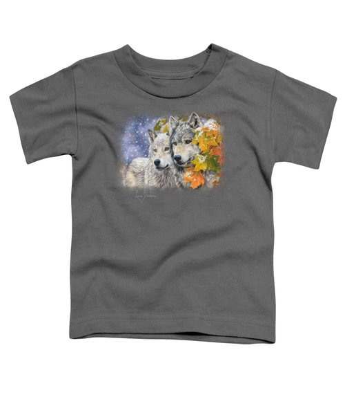 Early Snowfall Toddler T-Shirt by Lucie Bilodeau