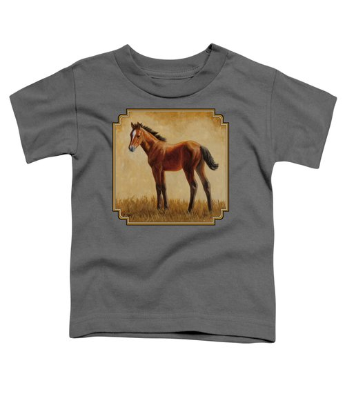 Afternoon Glow Toddler T-Shirt by Crista Forest