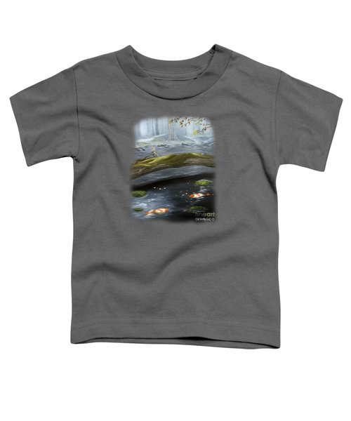 The Wishing Pond  Toddler T-Shirt by Susan  Rossell