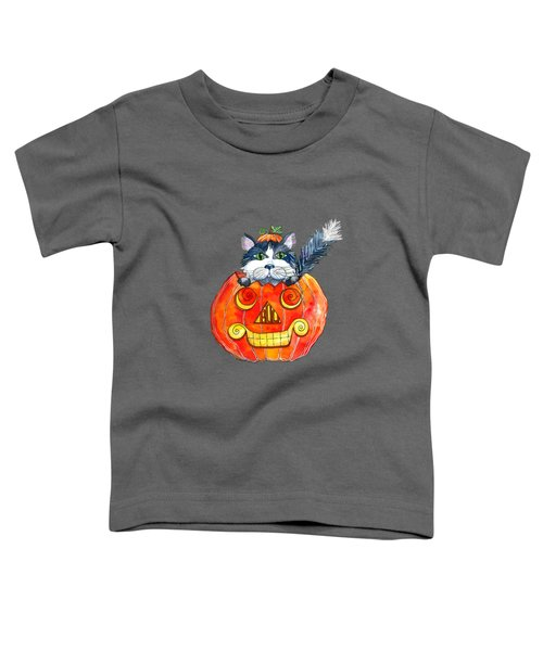 Boo Toddler T-Shirt by Shelley Wallace Ylst