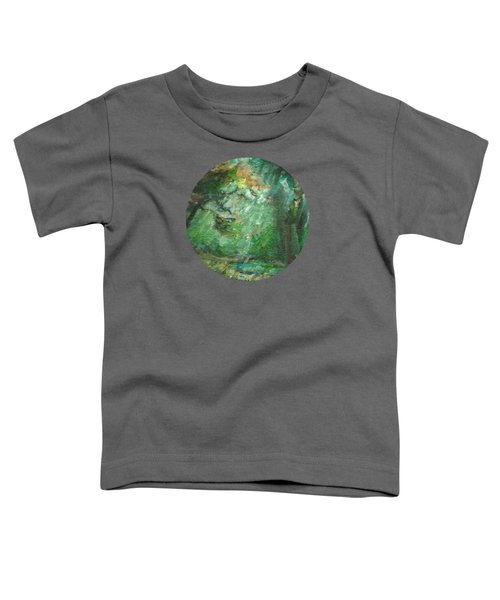 Rainy Woods Toddler T-Shirt by Mary Wolf