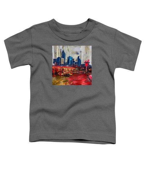 Atlanta Skyline 231 1 Toddler T-Shirt by Mawra Tahreem