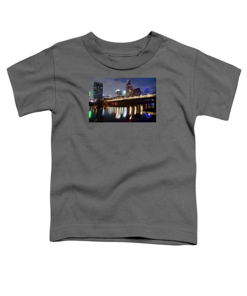 Austin From Below Toddler T-Shirt by Frozen in Time Fine Art Photography