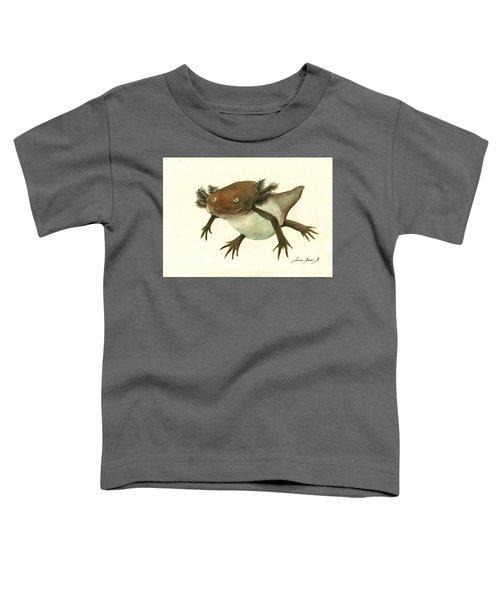 Axolotl Toddler T-Shirt by Juan Bosco