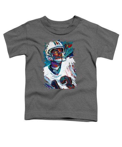 Bambino D'oro Dan Marino Toddler T-Shirt by Maria Arango