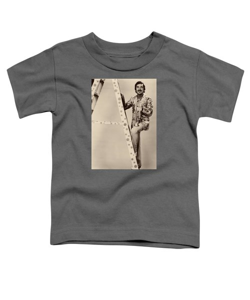 Band Leader Doc Serverinsen 1974 Toddler T-Shirt by Mountain Dreams