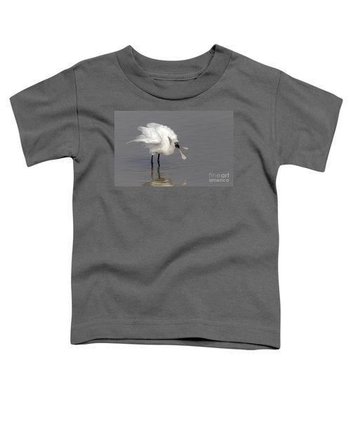 Black-faced Spoonbill Toddler T-Shirt by Martin Hale/FLPA