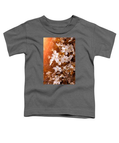 Blossoming Garden Toddler T-Shirt by Konstantin Sevostyanov