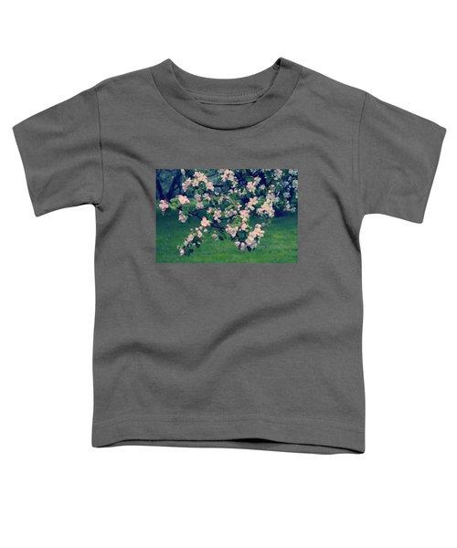 Blossoming Spring Garden Toddler T-Shirt by Konstantin Sevostyanov