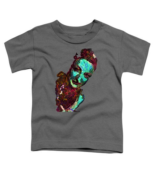 Blueberry Dripping Lean To Tease Toddler T-Shirt by John Groves