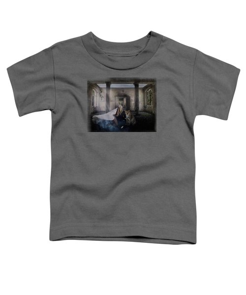 Bluebonnet Hall Toddler T-Shirt by Terry Fleckney