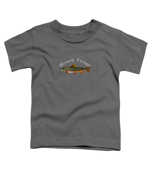 Brook Trout Toddler T-Shirt by T Shirts R Us -