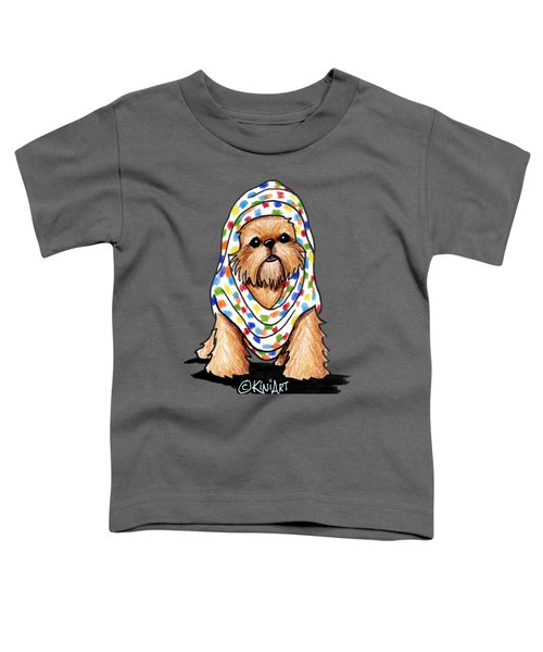 Brussels Griffon Beauty Toddler T-Shirt by Kim Niles