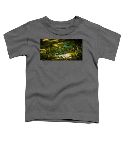 Bubbles And Reflections Toddler T-Shirt by Marvin Spates