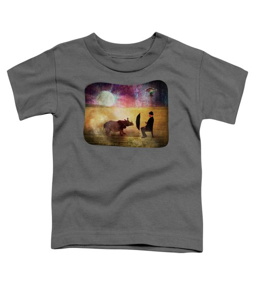 By The Light Of The Moon Toddler T-Shirt by Terry Fleckney