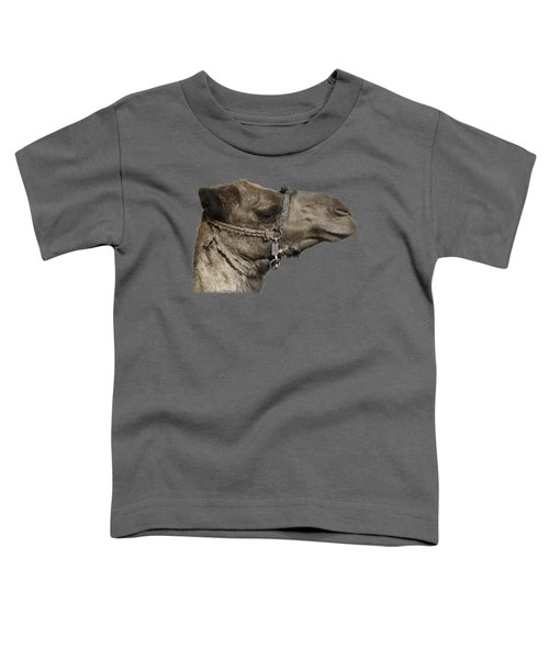 Camel's Head Toddler T-Shirt by Roy Pedersen