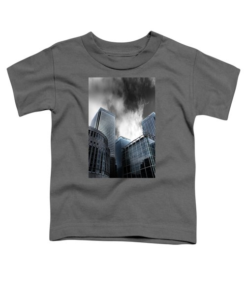 Canary Wharf Toddler T-Shirt by Martin Newman