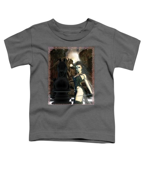 Chess 3d Fantasy Art Toddler T-Shirt by Sharon and Renee Lozen