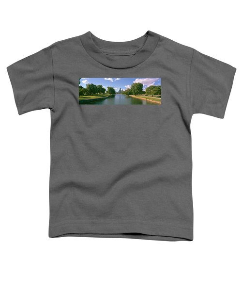 Chicago From Lincoln Park, Illinois Toddler T-Shirt by Panoramic Images