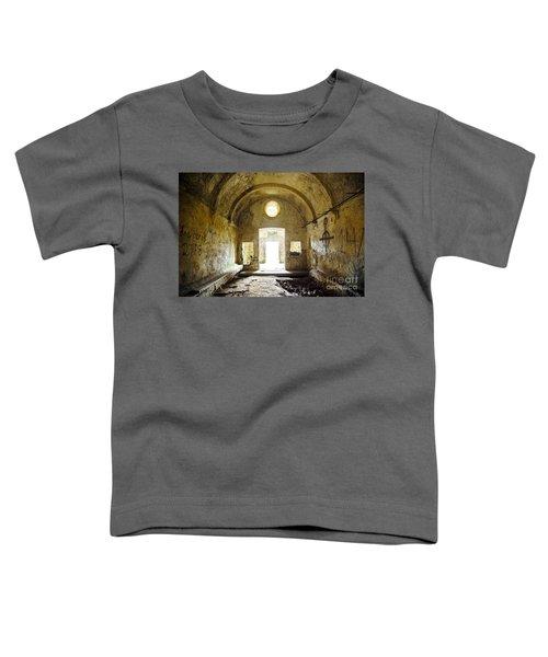 Church Ruin Toddler T-Shirt by Carlos Caetano