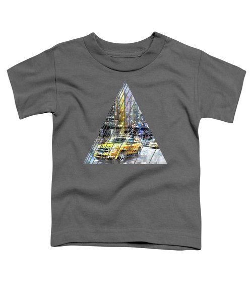 City-art Nyc Collage Toddler T-Shirt by Melanie Viola
