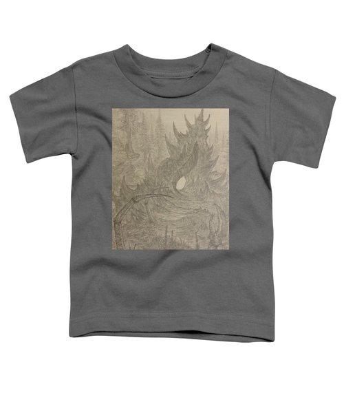 Coastal Castle Toddler T-Shirt by Corbin Cox