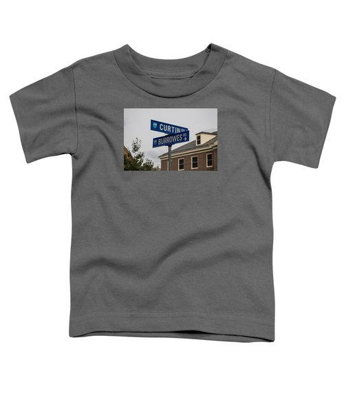 Curtin And Burrowes Penn State  Toddler T-Shirt by John McGraw