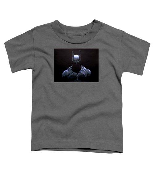Dark Knight Toddler T-Shirt by Marcus Quinn