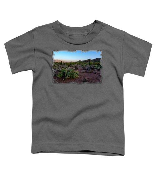 Desert Foothills H29 Toddler T-Shirt by Mark Myhaver