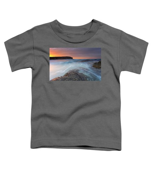Divided Tides Toddler T-Shirt by Mike  Dawson