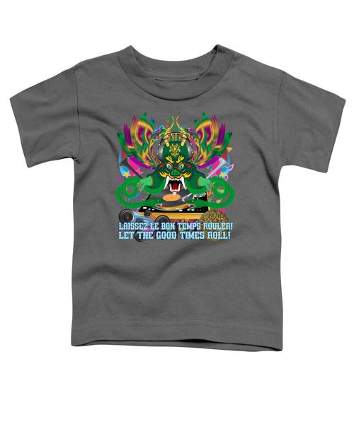 Dj Dragon6 King All Products Toddler T-Shirt by Bill Campitelle
