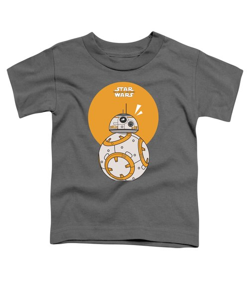 Dotted Starwars Toddler T-Shirt by Mentari Surya