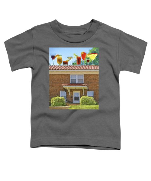 Drinks On The House Toddler T-Shirt by Nikolyn McDonald