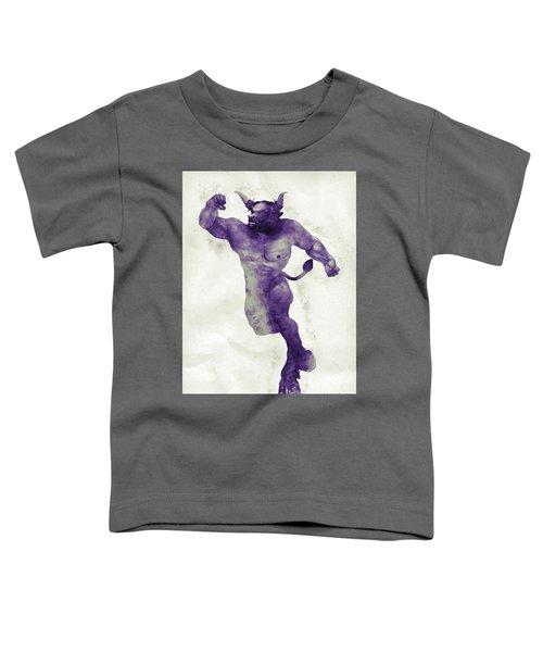 El Torito Guapo Toddler T-Shirt by Joaquin Abella