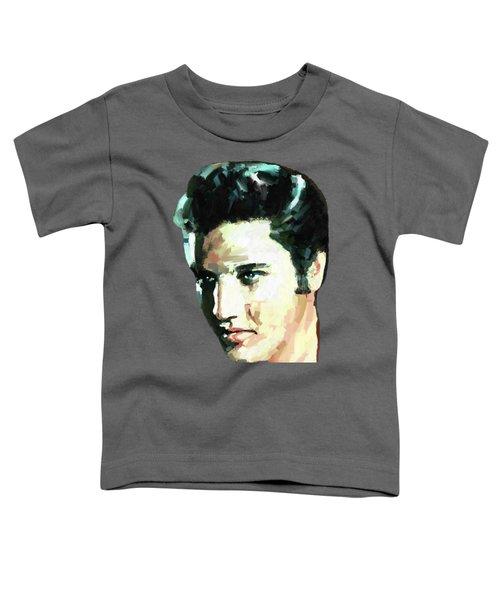 Elvis Toddler T-Shirt by James Shepherd