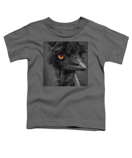 Emu Toddler T-Shirt by Paul Freidlund