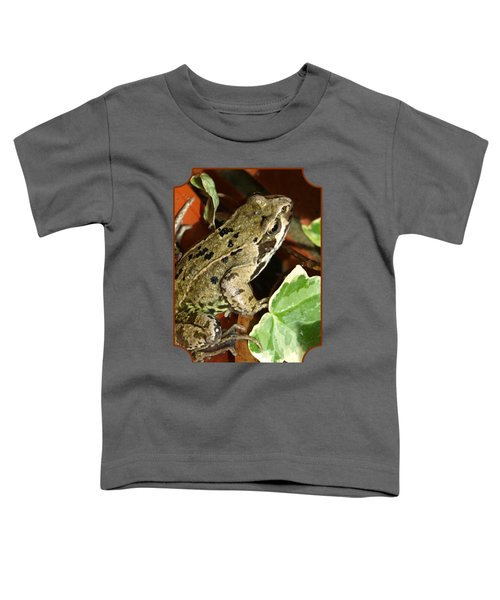 En Route To The Pond Toddler T-Shirt by Gill Billington