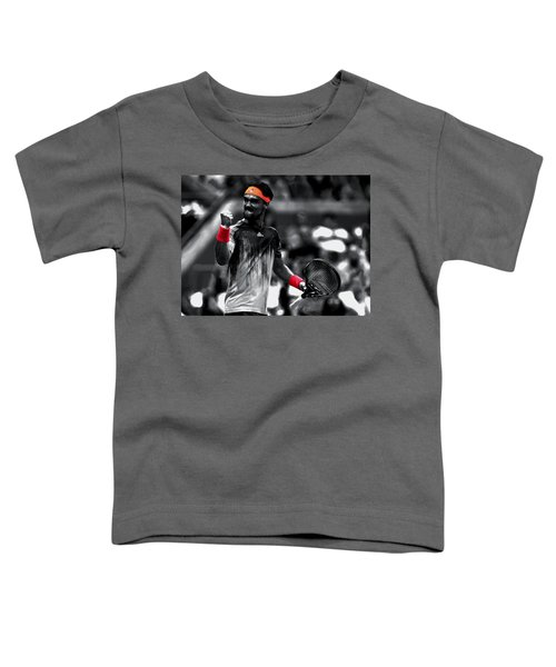 Fabio Fognini Toddler T-Shirt by Brian Reaves